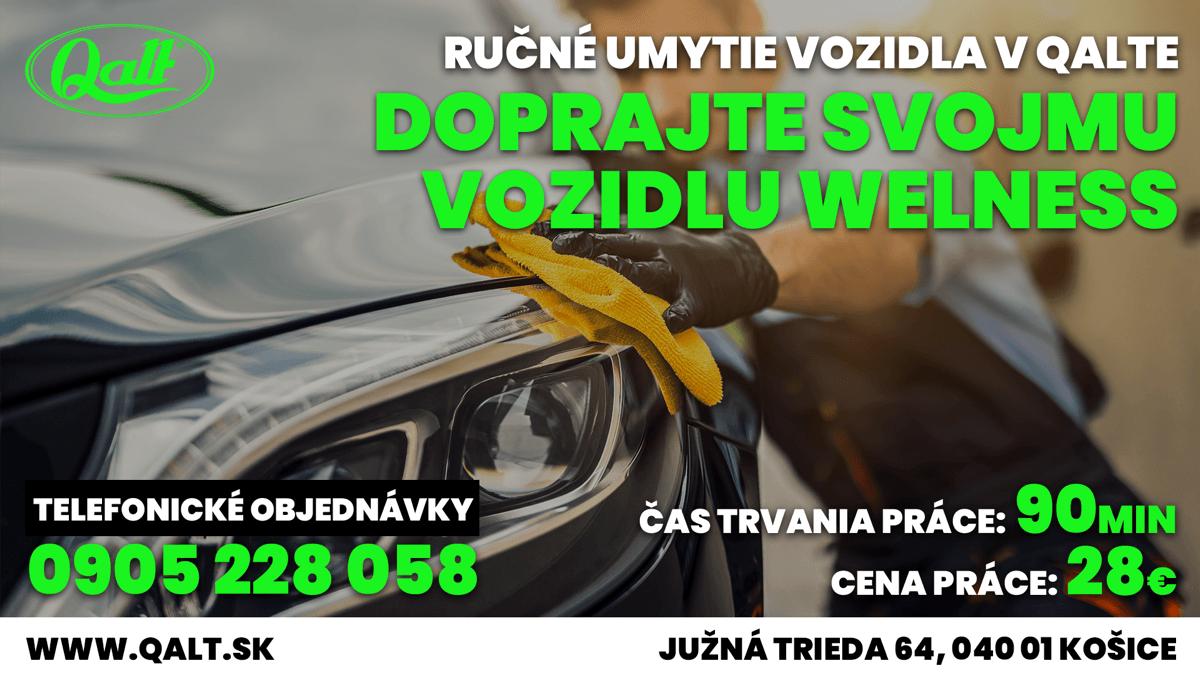 Obrazk pre sluzbu - Rýchle umytie vozidla